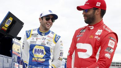 Photo of Dropping The Hammer: Chase Elliott & Bubba Wallace, The Faces Of NASCAR   Frontstretch