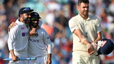 Photo of England implode after lunch, India take 2-1 series lead   AP