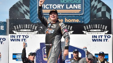 Photo of Creed continues playoff domination with Darlington sweep | RACER