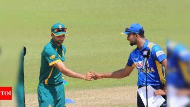 Photo of Live Cricket Score: Sri Lanka vs South Africa, 3rd ODI  – The Times of India : 5.5 : Sri Lanka : 33/1   Times Of India