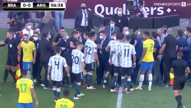 Photo of Brazil vs Argentina World Cup Qualifiers: Match suspended due to the failure to follow Covid-19 Health Protocols by English-based Argentinian players   InsideSport