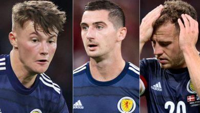 Photo of Nathan Patterson, Ryan Fraser, Kenny McLean withdraw from Scotland squad for Austria World Cup Qualifier | Sky Sports